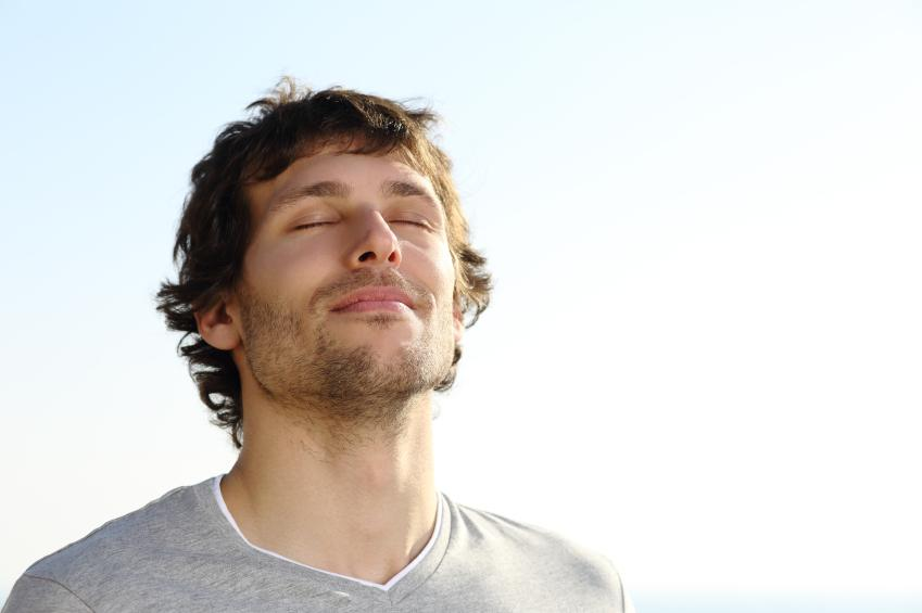 Breathing right contributes to your happiness