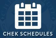 CHEK Schedules