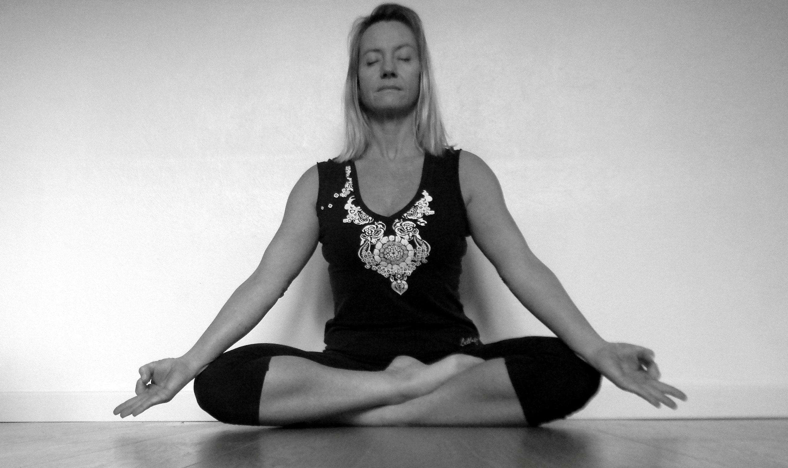 The Siddhasana Posture