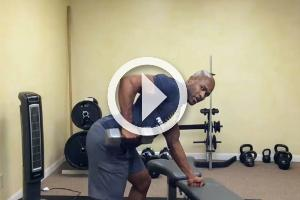How to Perform the 3 Point Dumbbell Row