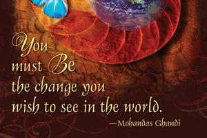 Be the Change by Gaelyn Larrick