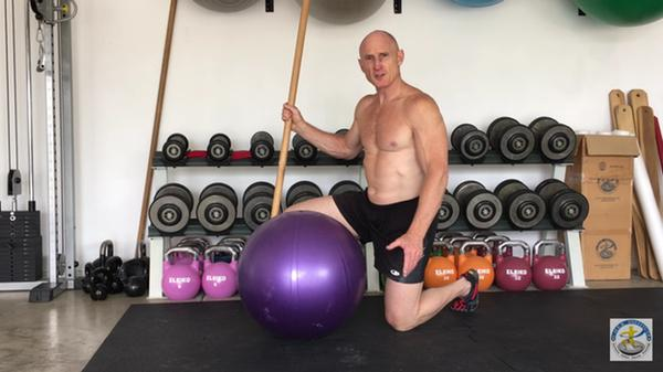 Intelligent Abs: The Forward Ball Exercise