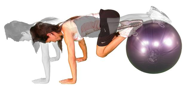 Flatten Your Stomach With a Swiss Ball