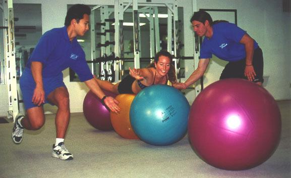 Swiss Ball Training For Swimmers
