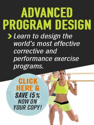 Save 15% on Advanced Program Design this month!