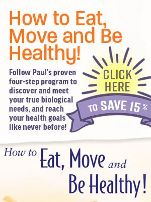 Purchase How to Eat, Move and Be Healthy! this month and save 15%!