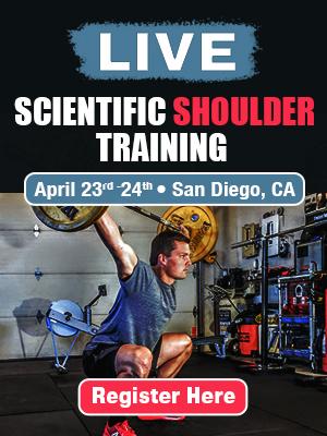 Scientific Shoulder Training Workshop