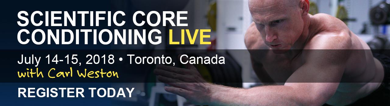 Scientific Core Conditioning Live
