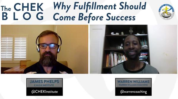 Why Fulfillment Should Come Before Success