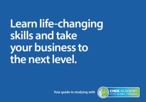 Download Your CHEK Academy Brochure