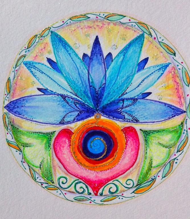 Core Flowering by Vidya McNeill