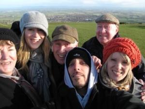 Karen Maidment's family