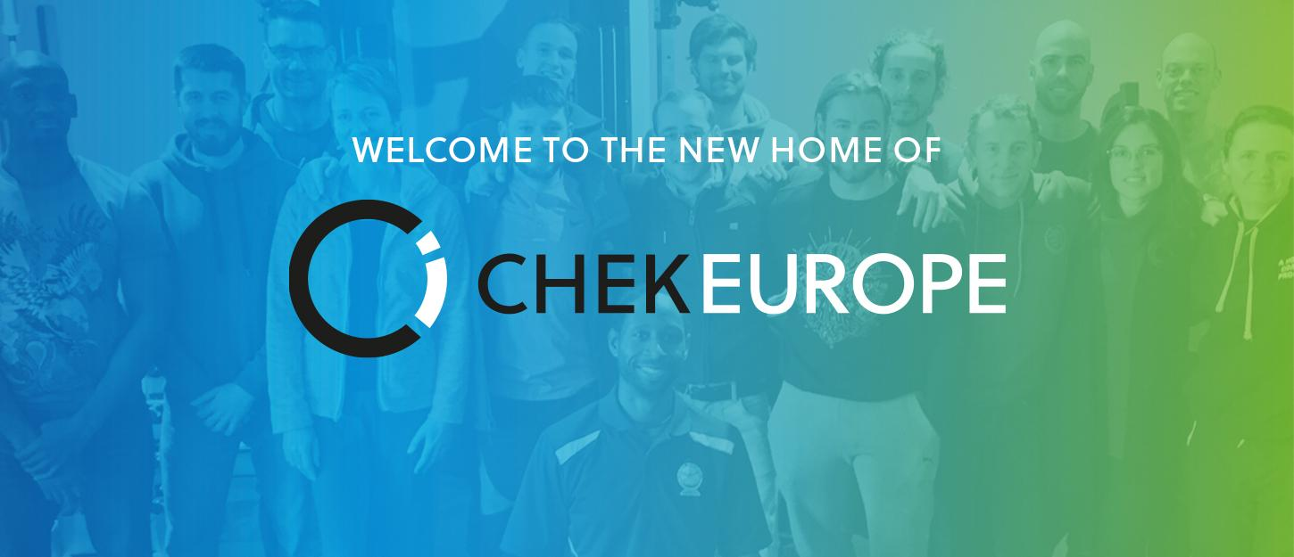 Welcome to the new home of CHEK Europe!