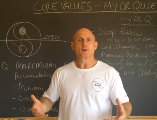Core Values: Dr. Quiet