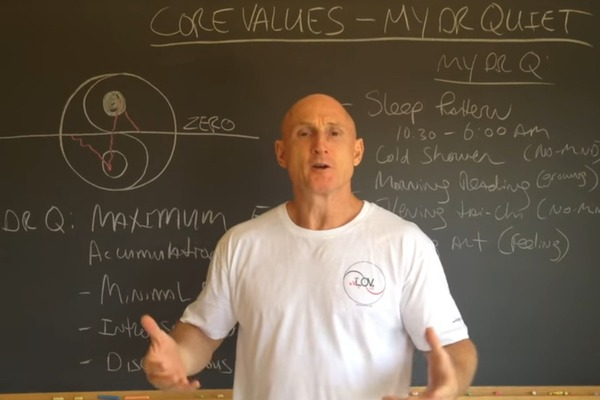 Core Values: Dr. Quiet
