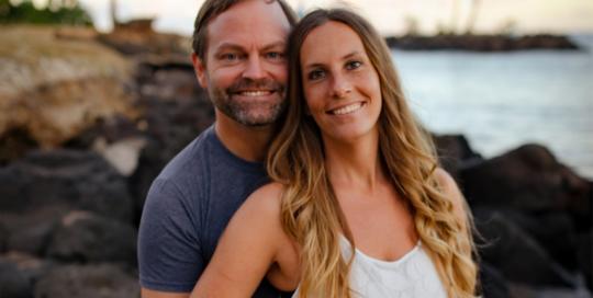Miranda Love and Phil Delaire